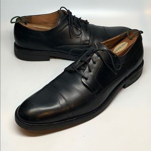 Cole Haan black leather Oxford dress shoes
